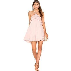 Susana Monaco blush dress-Xs